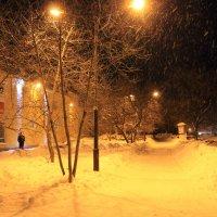 Новый год в Бийске :: Олег Афанасьевич Сергеев