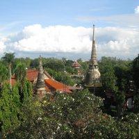 Пригород Бангкока. Аютхая. Храмовый комплекс. :: Лариса (Phinikia) Двойникова