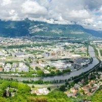 Панорама Гренобля.лето :: Наталия
