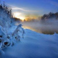 Морозный закат января...3 :: Андрей Войцехов