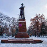 Памятник Н. Г. Чернышевскому. Что делать... зима. :: Anatol Livtsov
