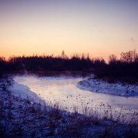 Закат на реке :: Алёнка Шапран