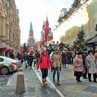 Зимние дни города. :: Лара ***