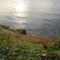 Анапа. Вид на море с набережной Высокий берег :: Нина Бутко