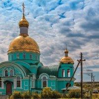 Строятся Храмы. :: Андрей Козлов