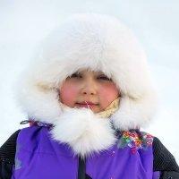 Внучка и мороз. :: Анатолий. Chesnavik.