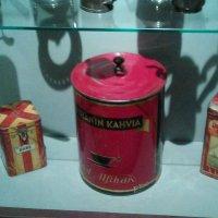 Кофе в упаковке начала 20 века. (музей Петропавловская крепость). :: Светлана Калмыкова