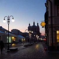 Зимний вечер в городе :: Андрей Лукьянов