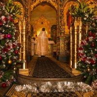 Рождество Христово. Праздничная Литургия :: Мария Корнилова