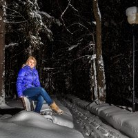 Зима в поселке :: Андрей Качин