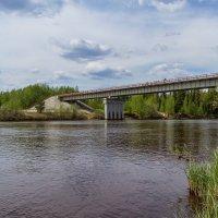 Мост через Амню :: Дмитрий Сиялов