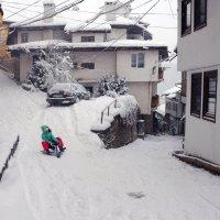 Зима в Старом городе :: Victor Spacewalker