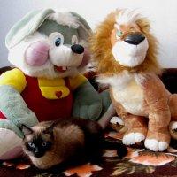 Мягкие игрушки (живые и неживые ) :: Наталья Петровна Власова