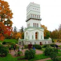 Белая башня, г.Пушкин-Царское Село :: GalLinna Ерошенко