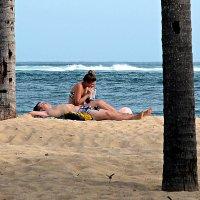 На пляже у Индийского океана :: Асылбек Айманов