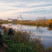 Как мы снимали пейзажи в Суздале. :: Александр Никитинский