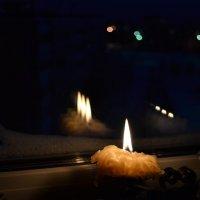 Свеча горела на столе... :: Ольга