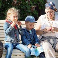 бабушкино воспитание :: Олег Лукьянов