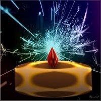 фрактальная свеча :: linnud