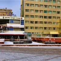 Фонтаны зимой отдыхают. :: Anatol Livtsov