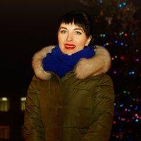 вечером у ёлочки :: Наталия Сарана