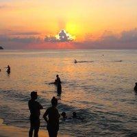 купание на закате :: vg154