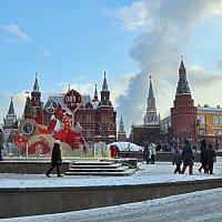 Москва Новогодняя. :: Лара ***