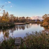 Осенний пруд. :: Александр Селезнев