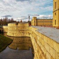 Отражение дворцового рва... :: Sergey Gordoff