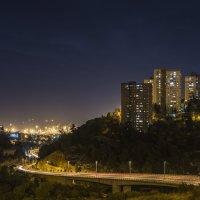 Ночной город Хайфа :: Eddy Eduardo