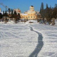 По льду к Храму :: Сергей Тарабара