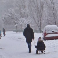 Снежное марево... :: Нина Корешкова