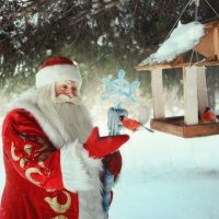 Дед Мороз существует! :: Кристина Мащенко
