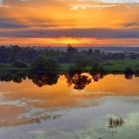Лето...закат...отражение... :: Вадим Телегин