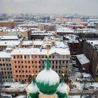Над зимним Санкт - Петербургом. :: Георгий Ланчевский
