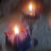 Свеча, отражение :: veera (veerra)