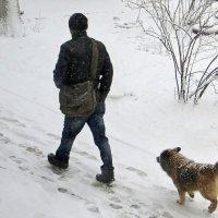 Рыхлый снег под ногами тает... :: Татьяна Смоляниченко