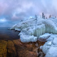 Ледяные скалы Ладоги :: Фёдор. Лашков