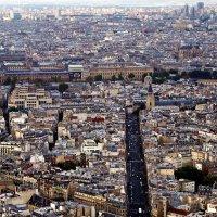 Париж, вид сверху :: Александр Корчемный