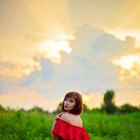 Летний закат :: Евгения Клепинина