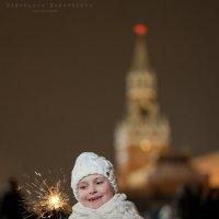 Лиза и вечерняя Москва :: Ярослава Бакуняева