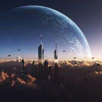 Небо и земля :: Александр Тарасенко