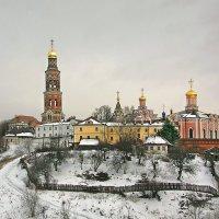 Иоанно-Богословский Пощуповский монастырь. :: Александр Назаров