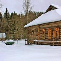 Но всё так же ночью снится мне деревня... :: Alexandr Zykov