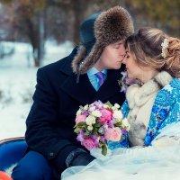 зимняя свадьба :: Софья