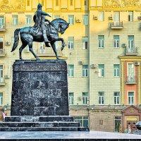 Москва Памятник Юрию Долгорукому. :: В и т а л и й .... Л а б з о'в