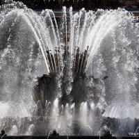ритмы города-графика воды или фонтаны :: Олег Лукьянов