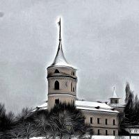 В объятиях снегопада.... :: Tatiana Markova