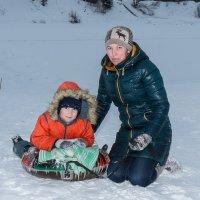 Зима - снег - горки... :: Алексей Корепин