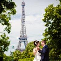 Свадебная фотосессия в Париже :: Наталья Ильина